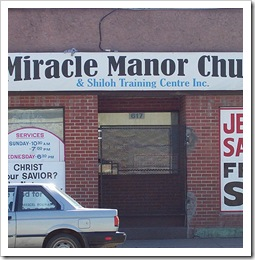 Miracle Manor Church