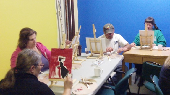 Art classes at The Lighthouse